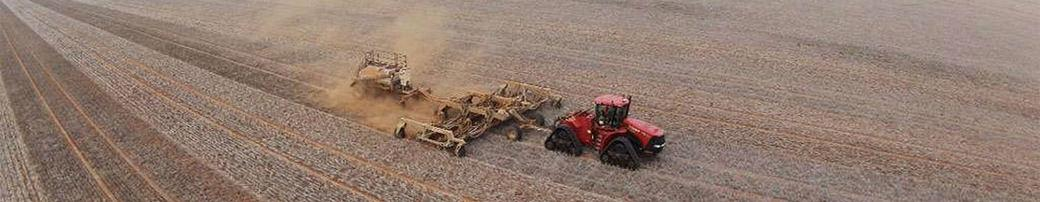 planting broad acre crop